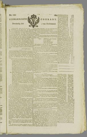 Middelburgsche Courant 1809-09-07
