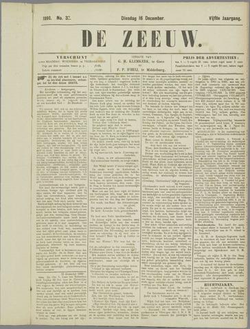 De Zeeuw. Christelijk-historisch nieuwsblad voor Zeeland 1890-12-16