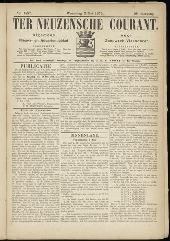 Ter Neuzensche Courant. Algemeen Nieuws- en Advertentieblad voor Zeeuwsch-Vlaanderen / Neuzensche Courant ... (idem) / (Algemeen) nieuws en advertentieblad voor Zeeuwsch-Vlaanderen 1879-05-07