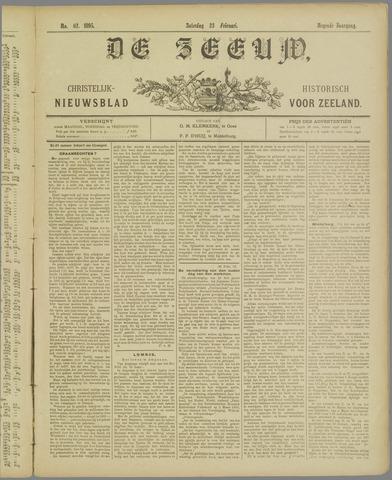 De Zeeuw. Christelijk-historisch nieuwsblad voor Zeeland 1895-02-23