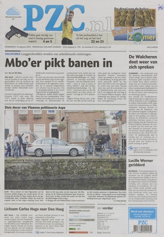 Provinciale Zeeuwse Courant 2010-08-19