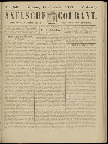 Axelsche Courant 1888-09-15