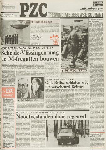 Provinciale Zeeuwse Courant 1984-02-09