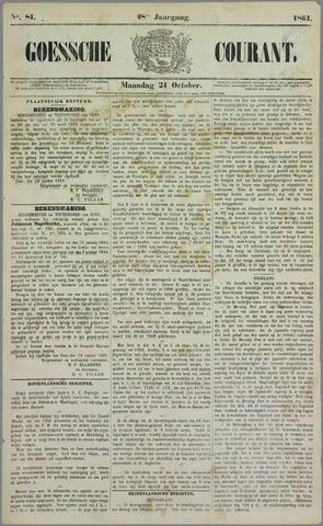 Goessche Courant 1861-10-21