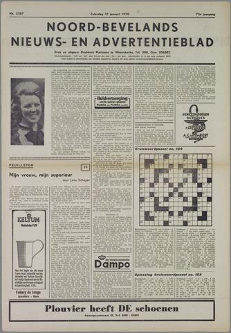 Noord-Bevelands Nieuws- en advertentieblad 1970-01-31