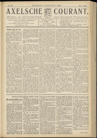 Axelsche Courant 1938-08-09