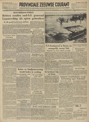 Provinciale Zeeuwse Courant 1953-02-11