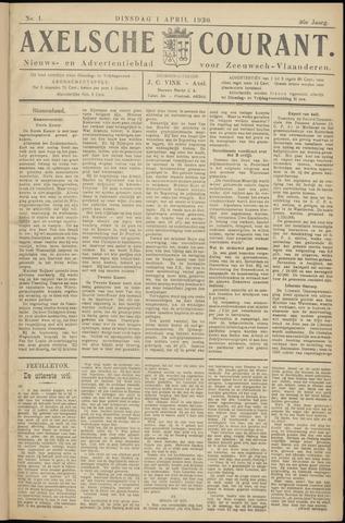 Axelsche Courant 1930-04-01