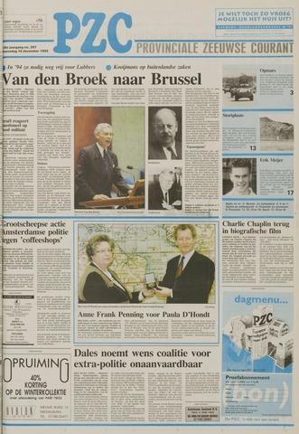 Provinciale Zeeuwse Courant 1992-12-16