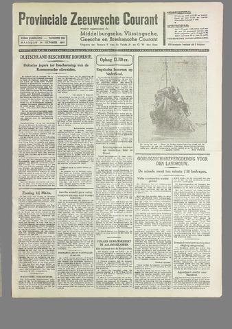 Provinciale Zeeuwse Courant 1940-10-14
