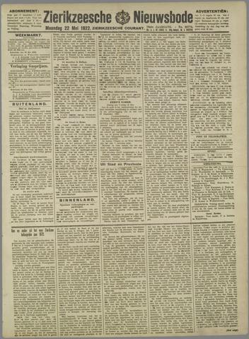Zierikzeesche Nieuwsbode 1922-05-22