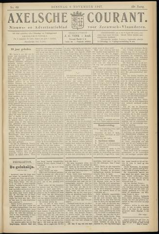 Axelsche Courant 1927-11-08