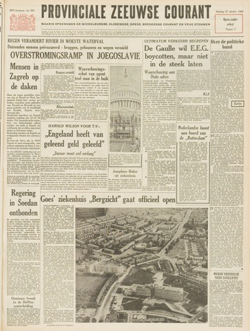 Provinciale Zeeuwse Courant 1964-10-27