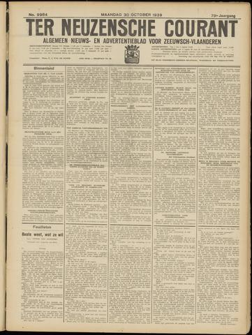 Ter Neuzensche Courant. Algemeen Nieuws- en Advertentieblad voor Zeeuwsch-Vlaanderen / Neuzensche Courant ... (idem) / (Algemeen) nieuws en advertentieblad voor Zeeuwsch-Vlaanderen 1939-10-30