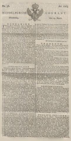 Middelburgsche Courant 1764-03-29