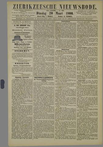Zierikzeesche Nieuwsbode 1900-03-20