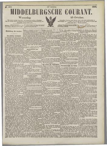 Middelburgsche Courant 1899-10-25
