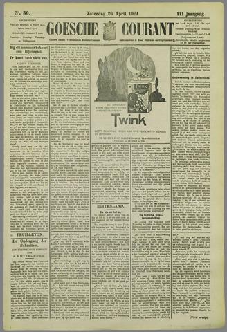 Goessche Courant 1924-04-26