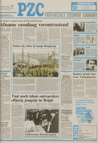 Provinciale Zeeuwse Courant 1992-02-05