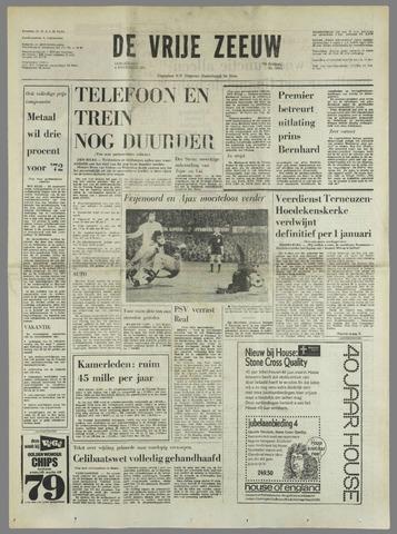 de Vrije Zeeuw 1971-11-04