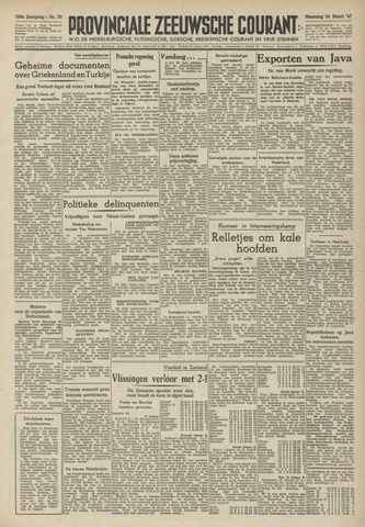 Provinciale Zeeuwse Courant 1947-03-24