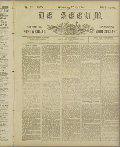 De Zeeuw. Christelijk-historisch nieuwsblad voor Zeeland 1905-10-25