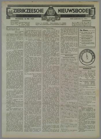 Zierikzeesche Nieuwsbode 1937-05-10