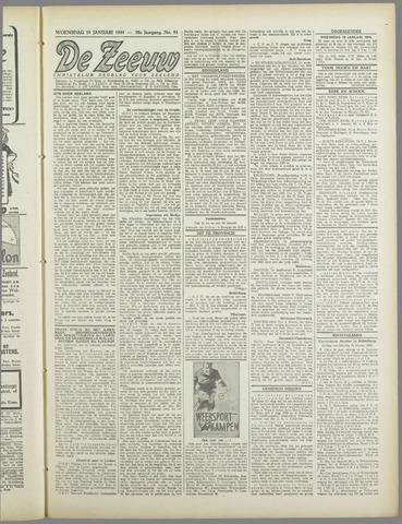 De Zeeuw. Christelijk-historisch nieuwsblad voor Zeeland 1944-01-19