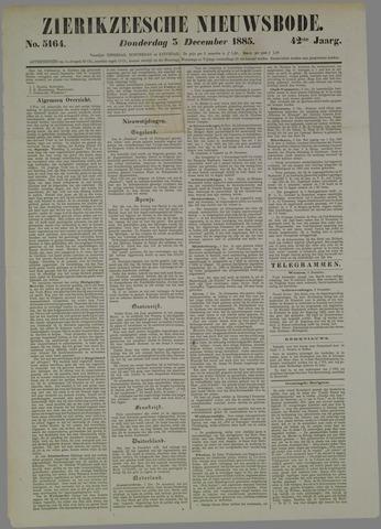 Zierikzeesche Nieuwsbode 1885-12-03