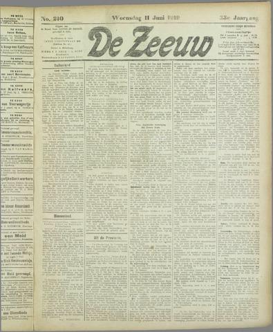 De Zeeuw. Christelijk-historisch nieuwsblad voor Zeeland 1919-06-11