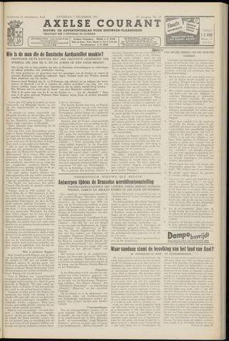 Axelsche Courant 1957-12-07