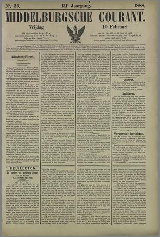 Middelburgsche Courant 1888-02-10