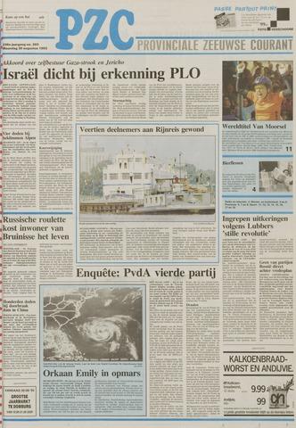 Provinciale Zeeuwse Courant 1993-08-30