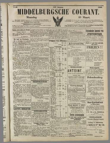 Middelburgsche Courant 1903-03-23