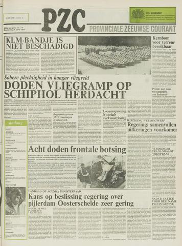Provinciale Zeeuwse Courant 1977-04-07