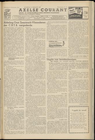Axelsche Courant 1956-02-25