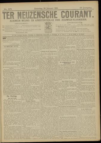 Ter Neuzensche Courant. Algemeen Nieuws- en Advertentieblad voor Zeeuwsch-Vlaanderen / Neuzensche Courant ... (idem) / (Algemeen) nieuws en advertentieblad voor Zeeuwsch-Vlaanderen 1915-01-30