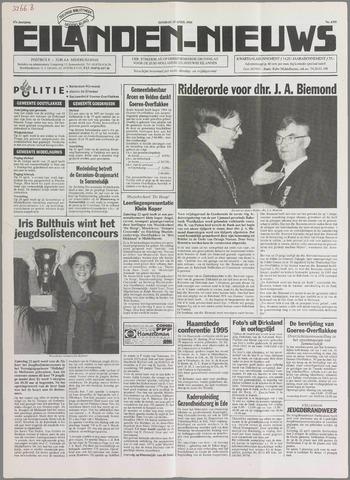 Eilanden-nieuws. Christelijk streekblad op gereformeerde grondslag 1995-04-25