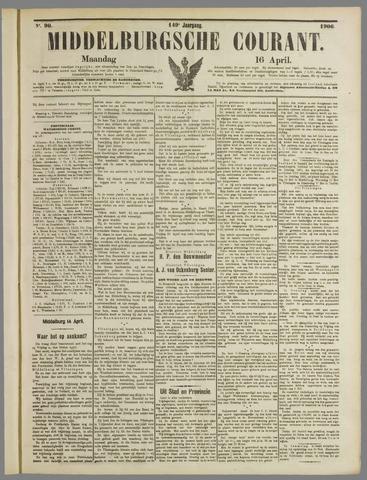 Middelburgsche Courant 1906-04-16