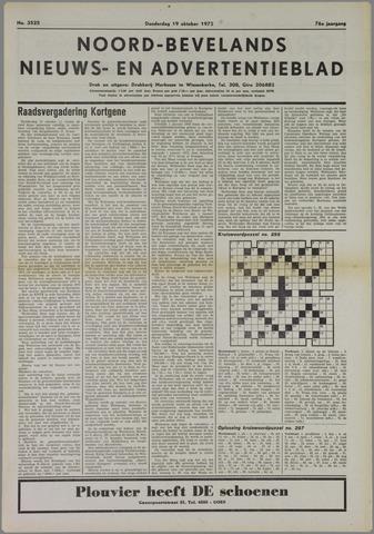 Noord-Bevelands Nieuws- en advertentieblad 1972-10-19