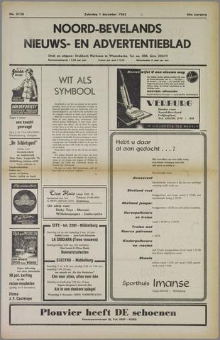 Noord-Bevelands Nieuws- en advertentieblad 1962-12-01