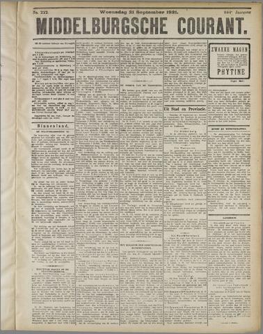 Middelburgsche Courant 1921-09-21
