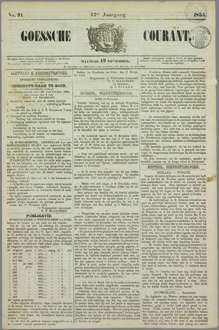 Goessche Courant 1855-11-19