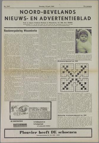 Noord-Bevelands Nieuws- en advertentieblad 1969-04-19