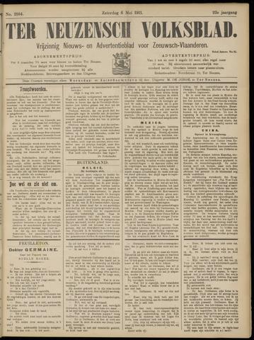 Ter Neuzensch Volksblad. Vrijzinnig nieuws- en advertentieblad voor Zeeuwsch- Vlaanderen / Zeeuwsch Nieuwsblad. Nieuws- en advertentieblad voor Zeeland 1911-05-06