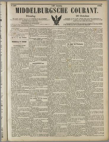 Middelburgsche Courant 1903-10-20