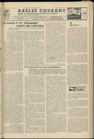 Axelsche Courant 1955-02-23