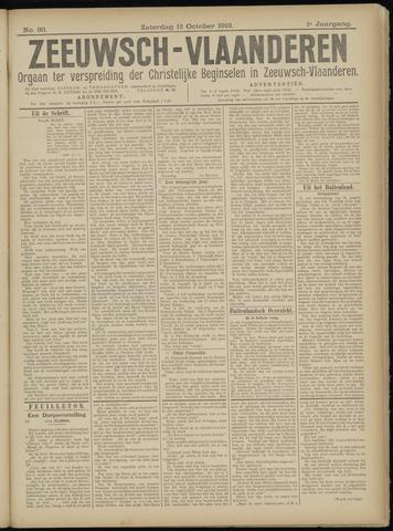 Luctor et Emergo. Antirevolutionair nieuws- en advertentieblad voor Zeeland / Zeeuwsch-Vlaanderen. Orgaan ter verspreiding van de christelijke beginselen in Zeeuwsch-Vlaanderen 1918-10-12