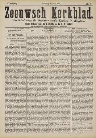 Zeeuwsche kerkbode, weekblad gewijd aan de belangen der gereformeerde kerken/ Zeeuwsch kerkblad 1909-07-30