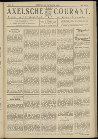 Axelsche Courant 1940-10-25